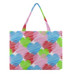 Holidays Occasions Valentine Medium Tote Bag by Zeze