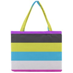 Bigender Flag Mini Tote Bag by AnjaniArt