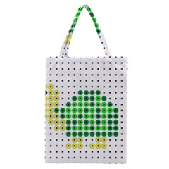 Colored Turtle Classic Tote Bag by AnjaniArt