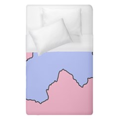Girls Pink Duvet Cover (single Size) by AnjaniArt