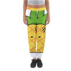 Kawaii Pineapple Women s Jogger Sweatpants by CuteKawaii1982
