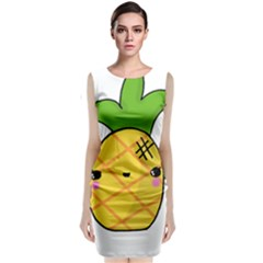 Kawaii Pineapple Classic Sleeveless Midi Dress by CuteKawaii1982