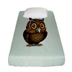 Owl Fitted Sheet (single Size)