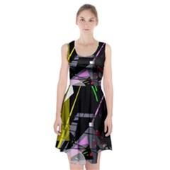 War Racerback Midi Dress