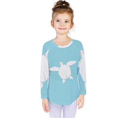 Pet Turtle Paper Origami Kids  Long Sleeve Tee