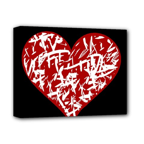 Valentine s Day Design Deluxe Canvas 14  X 11  by Valentinaart