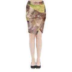 Australian Shepherd Red Merle Full Midi Wrap Pencil Skirt by TailWags
