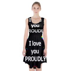 Proudly Love Racerback Midi Dress by Valentinaart