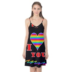I Love You Camis Nightgown by Valentinaart