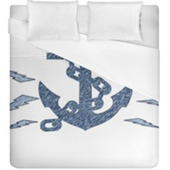 Anchor Pencil Drawing Art Duvet Cover (king Size) by picsaspassion