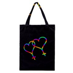 Love Is Love Classic Tote Bag by Valentinaart