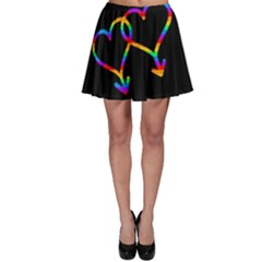 Love Is Love Skater Skirt by Valentinaart