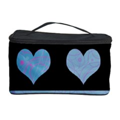 Blue harts pattern Cosmetic Storage Case