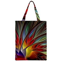 Fractal Bird of Paradise Classic Tote Bag
