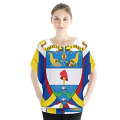 Coat Of Arms Of Colombia Blouse by abbeyz71