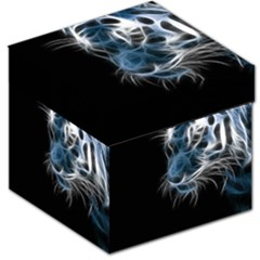 Ghost Tiger Storage Stool 12   by Brittlevirginclothing