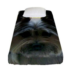 Cairn Terrier Fitted Sheet (single Size)