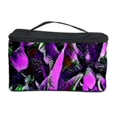 Floral  Fantasy, Pink Cosmetic Storage Case by MoreColorsinLife