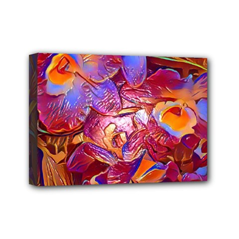 Floral Artstudio 1216 Plastic Flowers Mini Canvas 7  X 5
