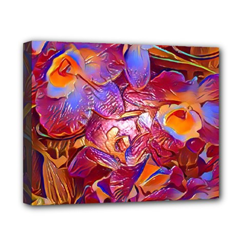 Floral Artstudio 1216 Plastic Flowers Canvas 10  X 8