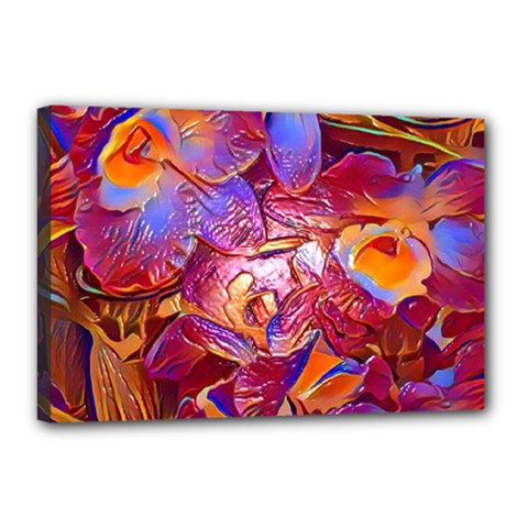 Floral Artstudio 1216 Plastic Flowers Canvas 18  X 12