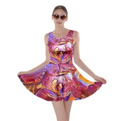Floral Artstudio 1216 Plastic Flowers Skater Dress