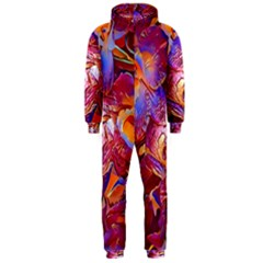 Floral Artstudio 1216 Plastic Flowers Hooded Jumpsuit (men)