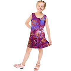 Floral Artstudio 1216 Plastic Flowers Kids  Tunic Dress