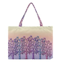 Magical Hill Medium Tote Bag by Valentinaart