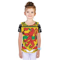 Coat of Arms of The Republic of The Congo Kids  One Piece Tee by abbeyz71