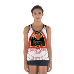 Coat Of Arms Of East Timor Women s Sport Tank Top  by abbeyz71