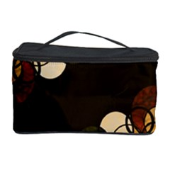 Autumn Bubbles Cosmetic Storage Case by Valentinaart