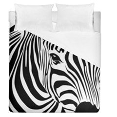 Animal Cute Pattern Art Zebra Duvet Cover (queen Size)