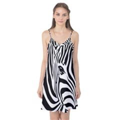 Animal Cute Pattern Art Zebra Camis Nightgown