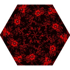 Small Red Roses Mini Folding Umbrellas by Brittlevirginclothing