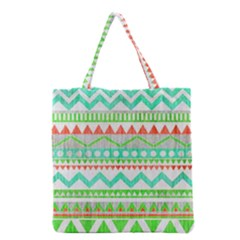 Cute Bohemian  Grocery Tote Bag by Brittlevirginclothing