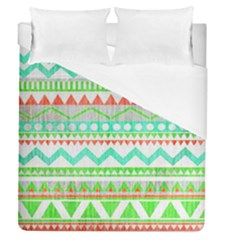 Cute Bohemian  Duvet Cover (queen Size) by Brittlevirginclothing