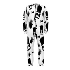 Gentlemen - black and white OnePiece Jumpsuit (Kids) by Valentinaart