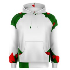 Holiday Wreath Men s Pullover Hoodie