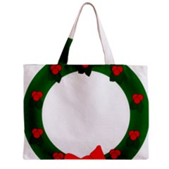 Holiday Wreath Medium Tote Bag by Amaryn4rt