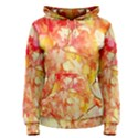 Monotype Art Pattern Leaves Colored Autumn Women s Pullover Hoodie View1