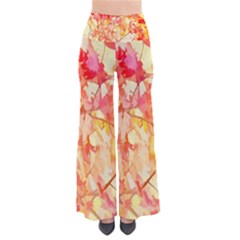 Monotype Art Pattern Leaves Colored Autumn Pants