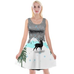 Rocky Mountain High Colorado Reversible Velvet Sleeveless Dress