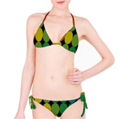 Geometry Round Colorful Bikini Set by AnjaniArt