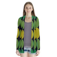 Geometry Round Colorful Cardigans