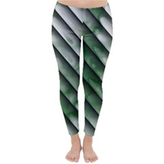 Green Bamboo Classic Winter Leggings