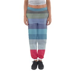 Line Light Stripes Colorful Women s Jogger Sweatpants by AnjaniArt