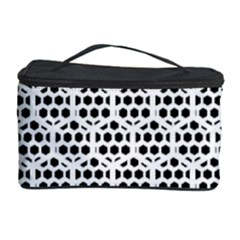 Seamless Honeycomb Pattern Cosmetic Storage Case by Amaryn4rt