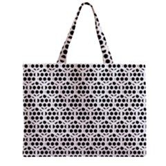 Seamless Honeycomb Pattern Zipper Mini Tote Bag by Amaryn4rt