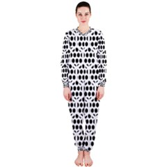 Seamless Honeycomb Pattern Onepiece Jumpsuit (ladies)  by Amaryn4rt